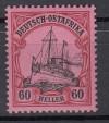 Deutsche Kolonien Deutsch-Ostafrika Mi. Nr. 37 ** Schiffszng.  60 H