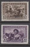 Sowjetunion Mi. Nr. 804 - 805 **  Kirgisische ASSR