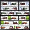 DDR Zdr. v. Mi. Nr. 2864 - 2867 Schmalspurbahn IV kpl. 12 Zdr. o