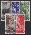 Sowjetunion Mi. Nr.494 - 498 o Ausbruch 1. WK