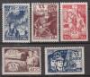 Sowjetunion Luxussatz Mi. Nr. 652 - 656 **  20 Jahre Komsomol