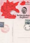 Propagandakarte III. Reich Ein Volk -  K 14