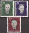 DDR Mi. Nr. 765 - 767 ** KZ-Opfer