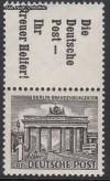 Zusammendruck Berliner Bauten 1949 Zd - Mi. S 10 **
