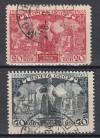 Sowjetunion Mi. Nr. 472 - 473 o  Todestag Fjodorow