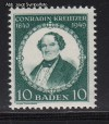 Franz. Zone Baden Mi. Nr. 53 ** Conradin Kreutzer
