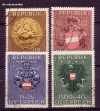 Österreich Mi. Nr. 937 - 940 Heimkehrerfürsorge 1949 o