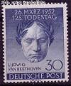 Berlin 1952 Mi. Nr. 87 ** Ludwig van Beethoven