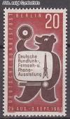 Berlin 1961 Mi. Nr. 217 ** Funk-Ausstellung