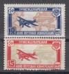 Sowjetunion Mi. Nr. 326 - 327 * Luftpostkonferenz 1927