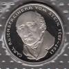Bundesrepublik 5 DM M�nze in Noppenfolie stg 1981 vom Stein