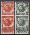 Sowjetunion Mi. Nr. 1074 - 1075 A und B o  Oktoberrevolution