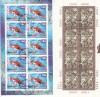 Schweiz 2 erschienene Kleinbogen 2002 o Sonderstempel