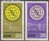 DDR Mi. Nr. 1113 - 1114 ** ITU