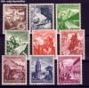 DR Mi. Nr. 675 - 683 ** Winterhilfswerk 1938